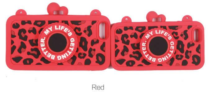 Retro Camera Soft Silicone Case For iPhone 7/7 PlUS - Built in Wireless Camera Shutter Selfie Bluetooth Remote