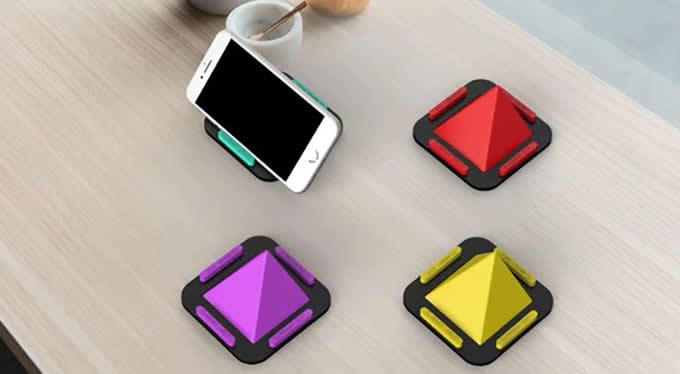 Silicone Mobile Phone Stand Multi-Angle Desktop Cell Phone Stand Holder