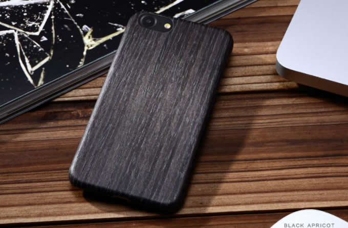 Walnut Wooden Drop Proof Slim Cover Case for iPhone 7 7 Plus