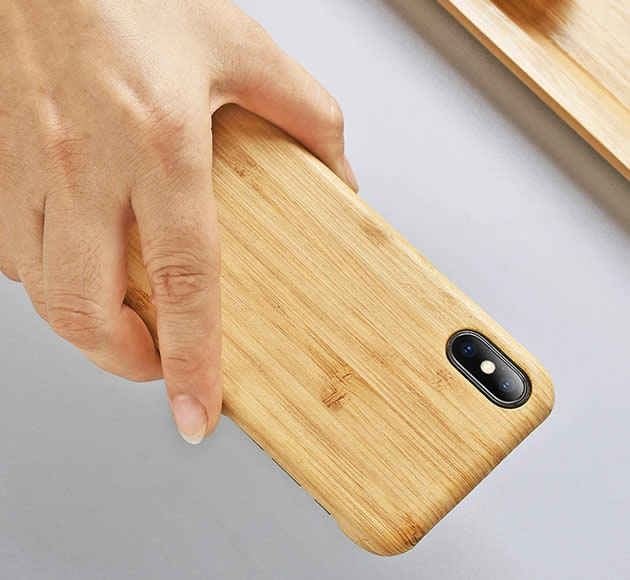 Classic Wooden Protective Iphone Phone Case