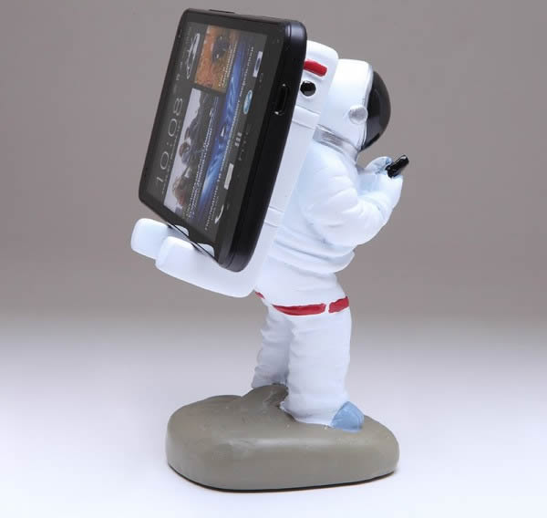 Astronaut Cell Phone Holder