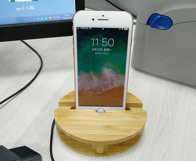 Smartphone Cell Phone Charging Dock Speaker Amplifier Megaphone Horn Holder Stand for iPhone 77 Plus6s6s Plus