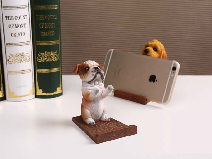 Cute Dog  Cell Phone Holder