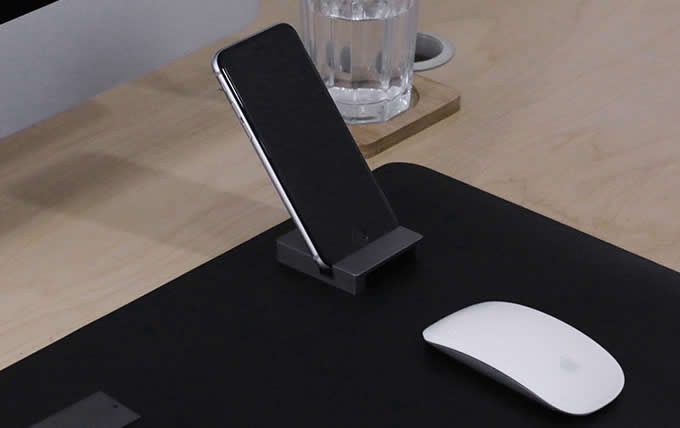 Metal Desk Phone Stand,Cell Phone Stand with Sound Amplifier