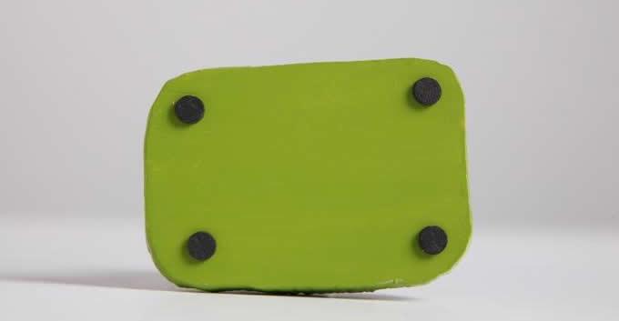 Handmade Leather Simple Style Headphone Bag Coin Purse