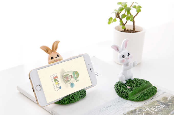 Resin Animal Cell Phone iPad Stand Holder