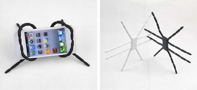 Spider Mount holder for Iphone, camera, book