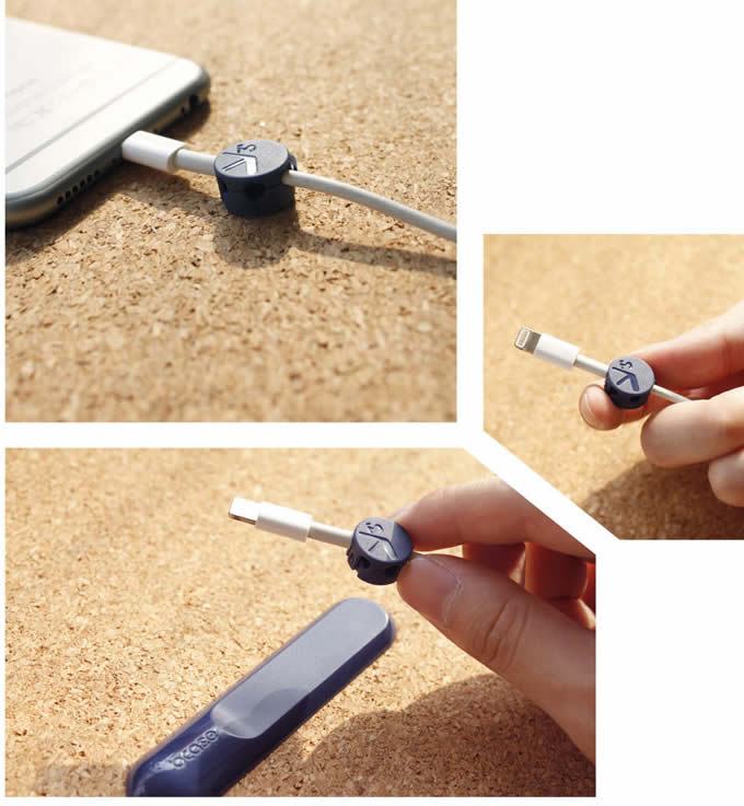 USB Holder Multi Purpose Magnetic  Cable Clips
