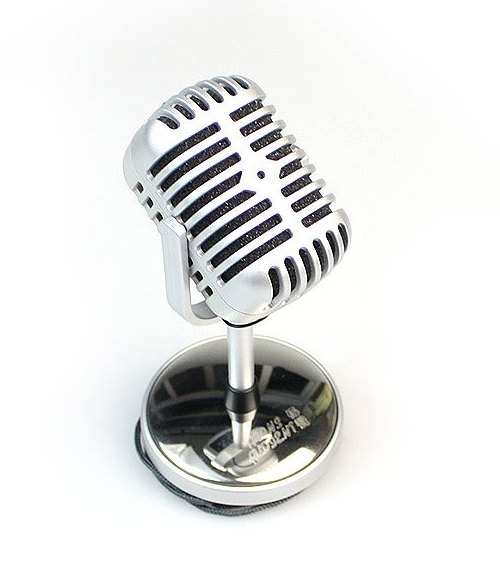 Retro Designed Microphone-cool stuff