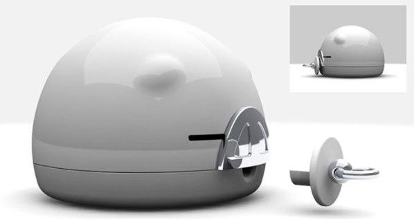 i-piggy Vibrating Speaker-cool stuff