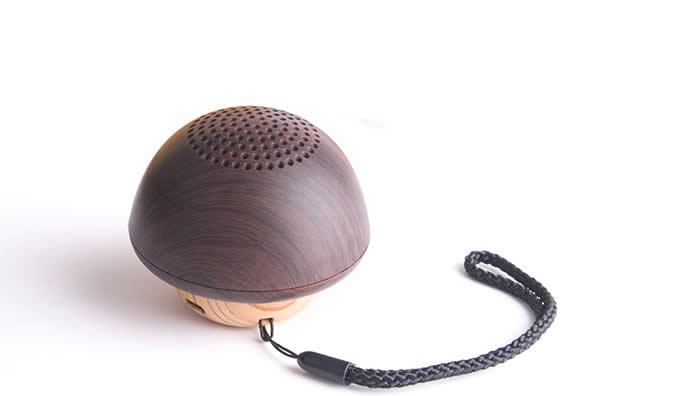 Mushroom-Shaped Mini Bluetooth Speaker