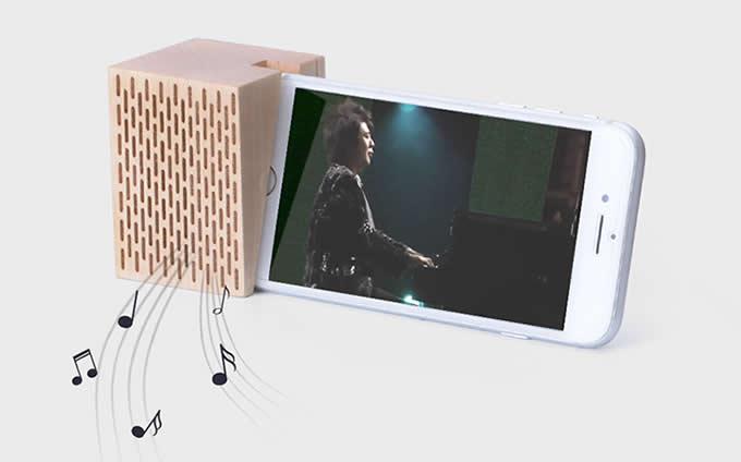 Natural Wooden Phone Sound Amplifier Trumpet Holder Amplifier Loudspeaker for iPhone 7 Plus 6 Plus 6s Plus