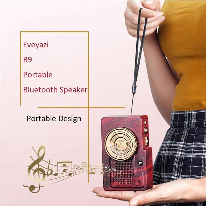 Vintage Radio Retro Bluetooth Speaker