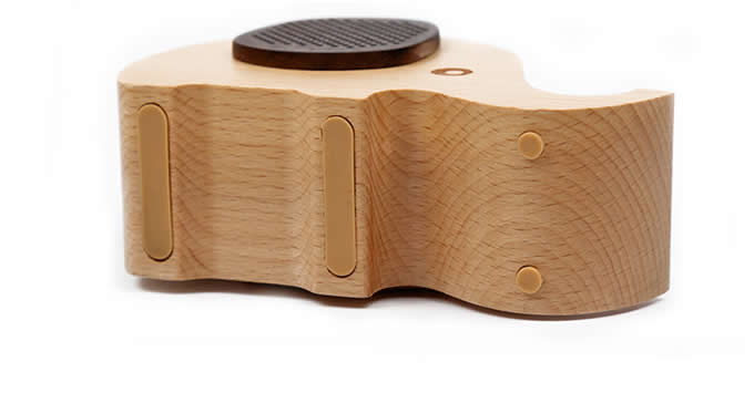 Wooden Animal Bluetooth Speaker Mobile Phone iPad Holder Stand