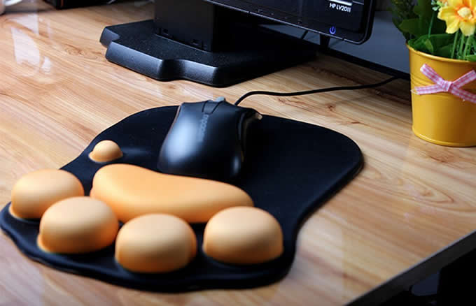 Cat Paw Mouse Pad Wrist Cushion