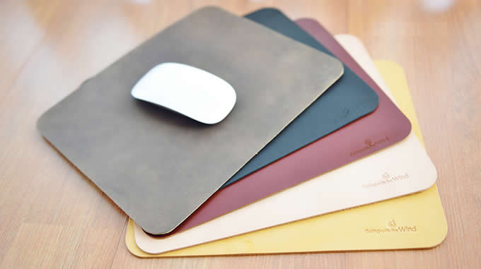 Genuine Leather Mouse Pad Desk Mat Feelgift
