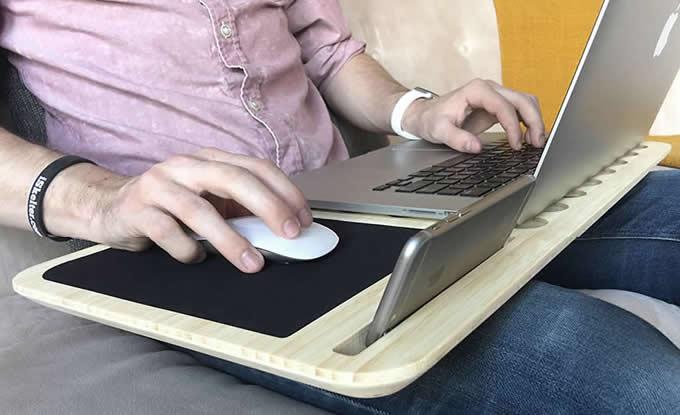 Slate Mobile AirDesk Notebook Lap Desk