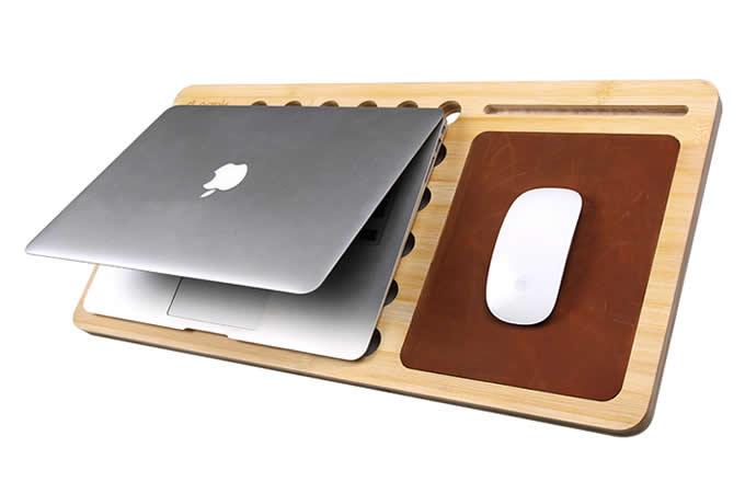 Bamboo  Macbook  Mobile Lap Desk