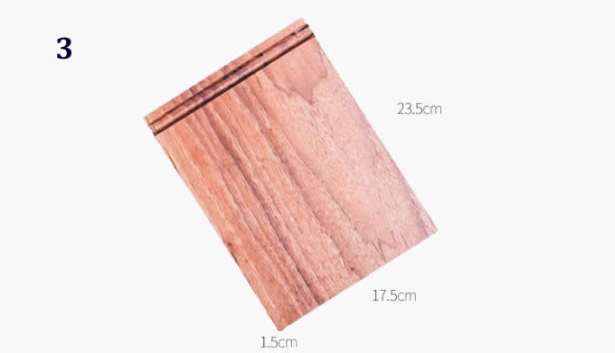 Simple Wooden Mouse Pad