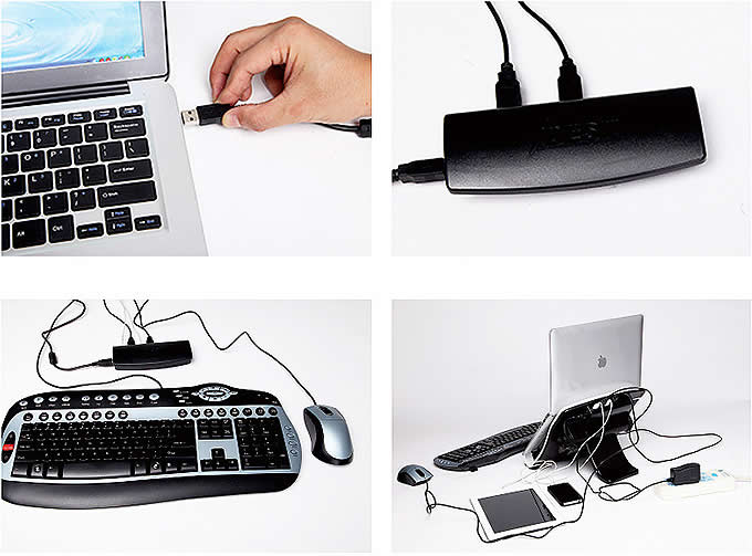 Adjustable Notebook Laptop Stand Holder Bracket For for Apple MacBook & Laptops