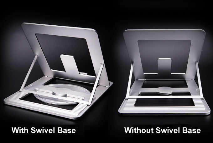 Portable  Aluminum Alloy Adjustable Laptop Tablet Stand Notebook Riser Holder