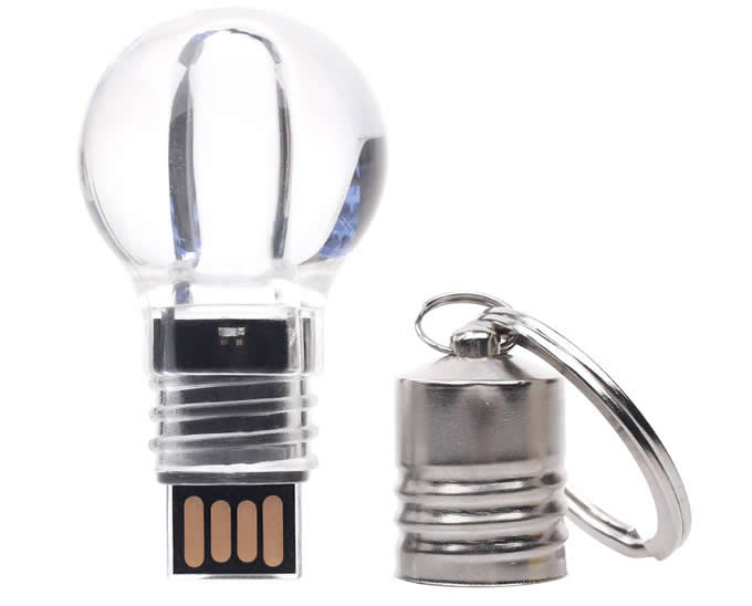Bulb Shaped Usb Flash Drive