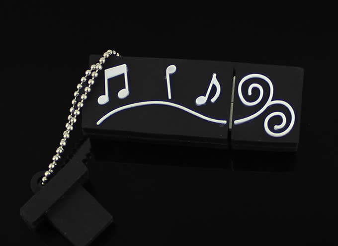 Musical Note Shaped  Usb Flash Drive