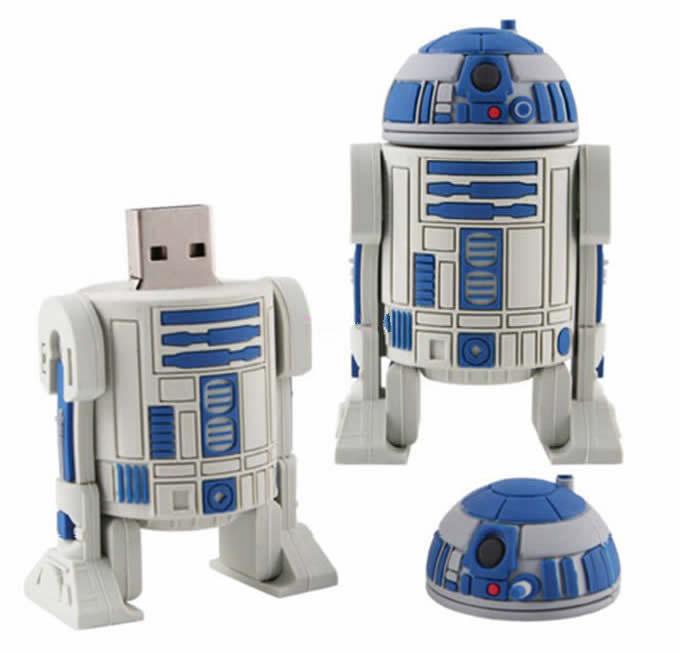 Cartoon Robot USB Flash Drive