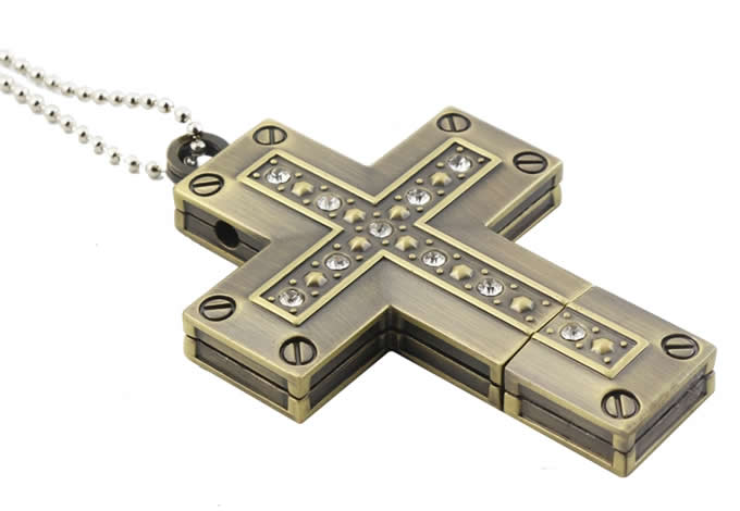 Cross  Shaped Usb Flash Drive