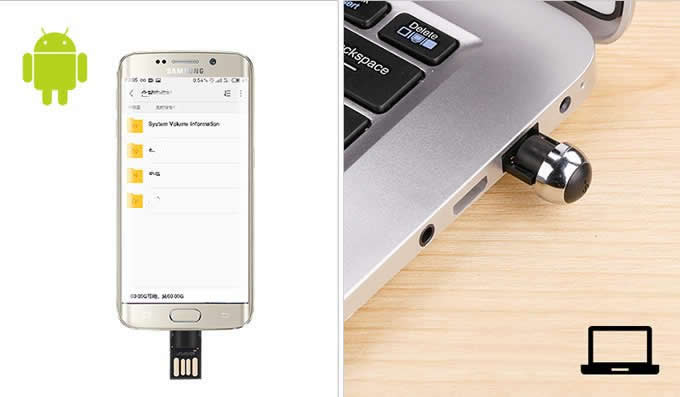 Pen Style 32GB USB2.0 OTG Flash Drive With Micro USB  Connector For Android  Tablet And Computer