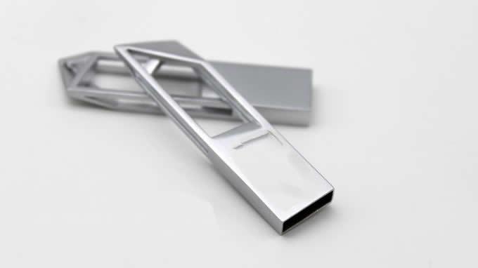 Unique Metal 8GB USB Flash Drive