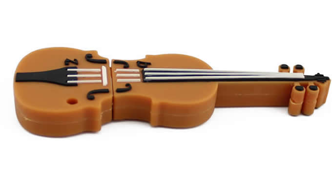 Violin Shaped  Usb Flash Drive