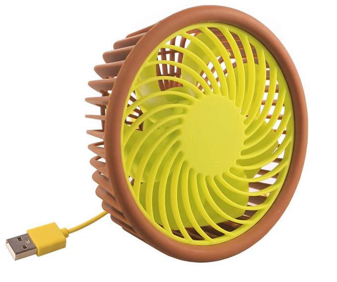 Portable USB Rechargeable Desktop Cooling Fan