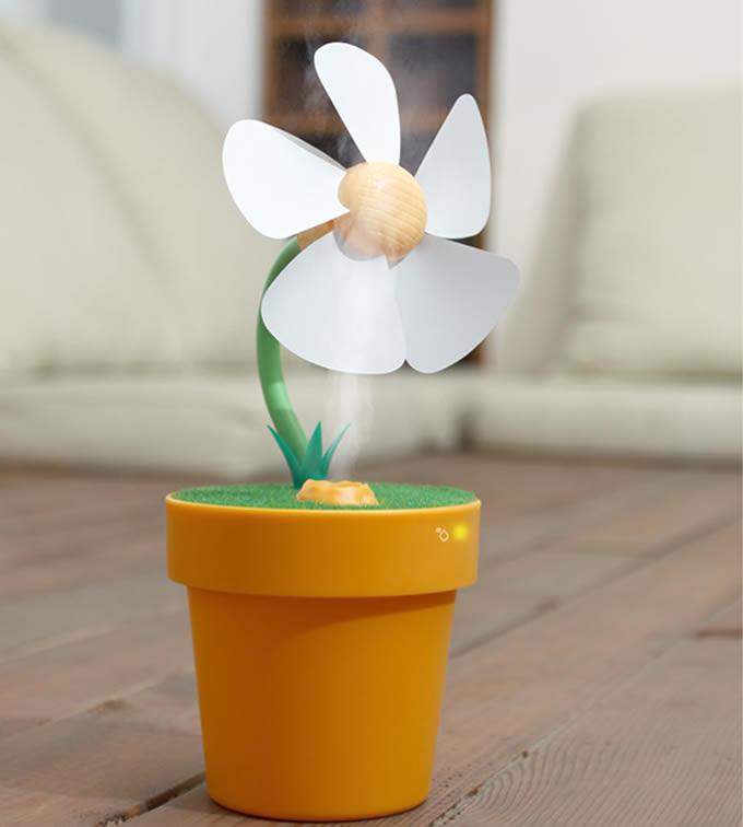 Mini USB Fan  Air Humidifier