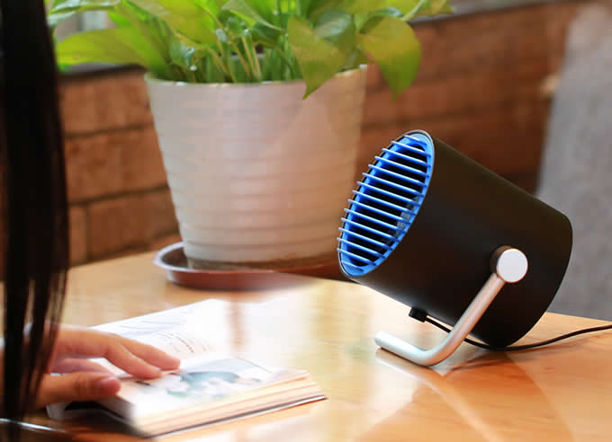 USB Powered Touch Control Desk Fan