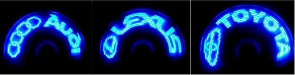 USB Programmable LED Message Fan