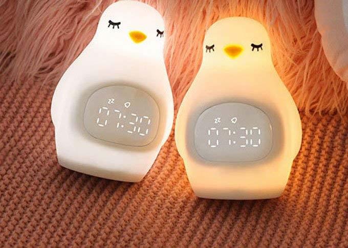 Chick Alarm Clock LED Night Light