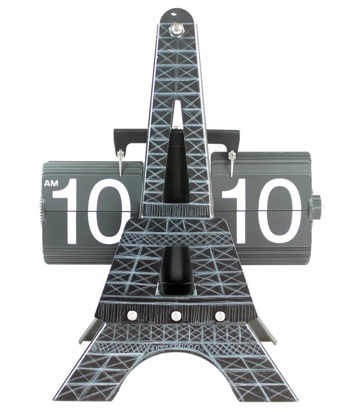 Eiffel Tower Auto Flip Clock