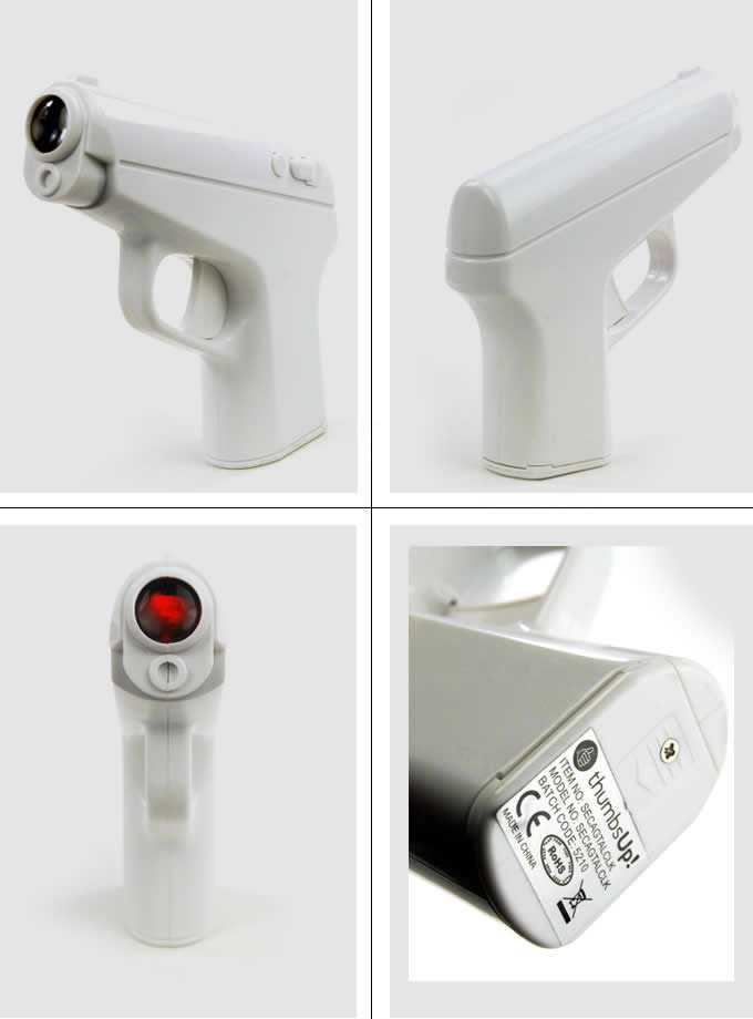 Gun Shaped Projection Clock