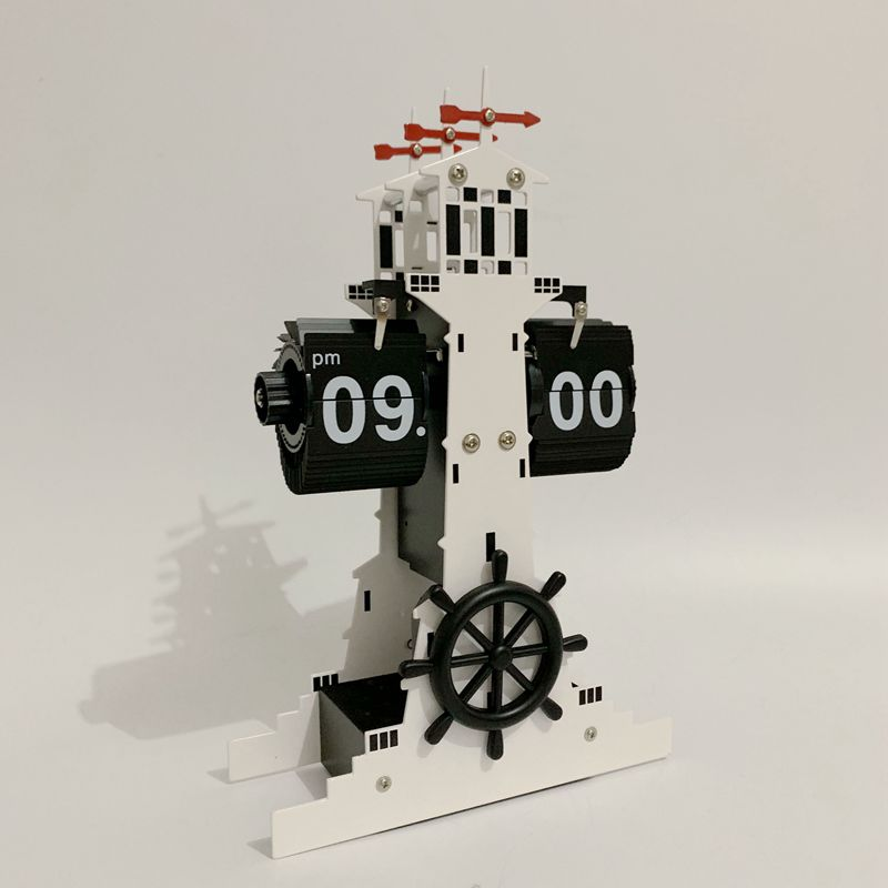 Lighthouse Flip Clock