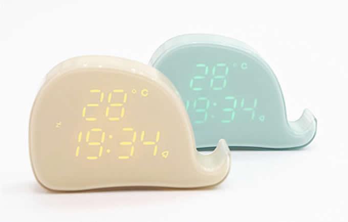 Magnetic Whale Alarm Clock