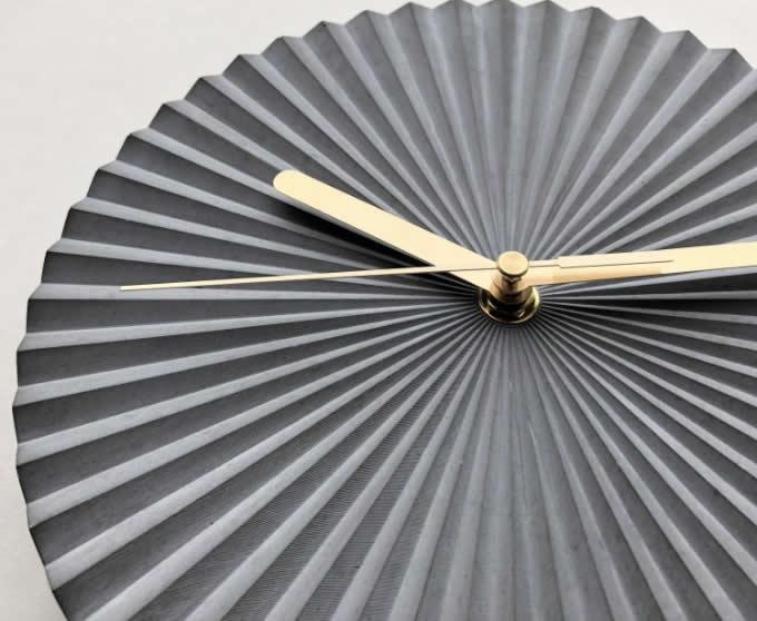 Modern Concrete Wall Clock