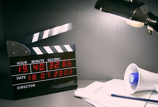 Film Action Clock-cool stuff