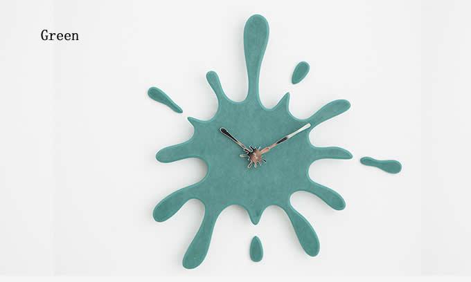 Water drop Art Wall Clock