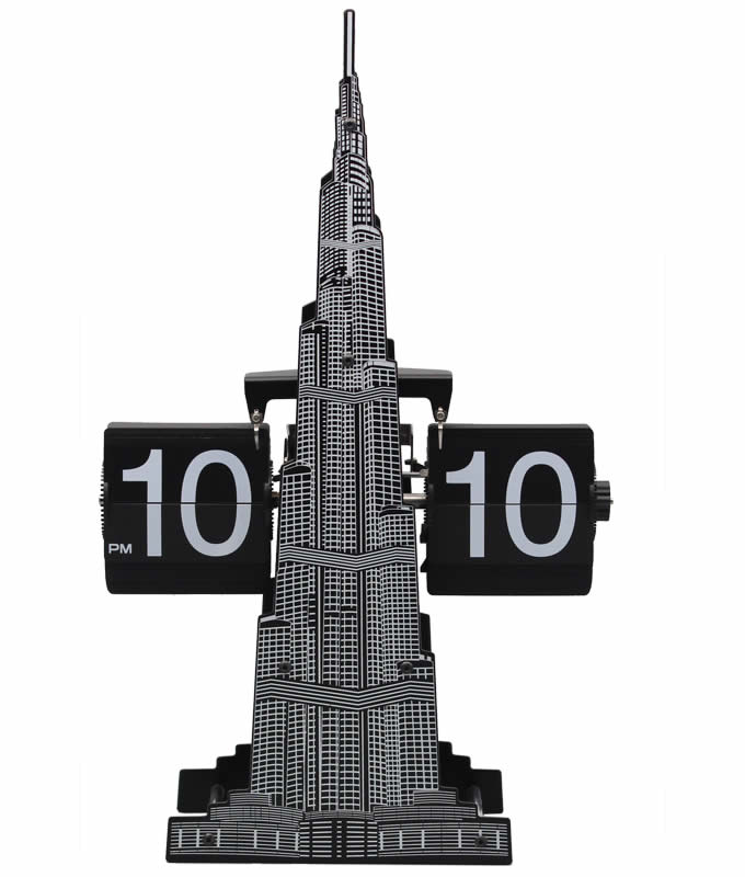 khalifa Tower Auto Flip Clock