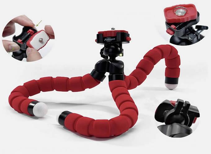 FlexPod Pro Portable Gripper Tripod With Ball Head