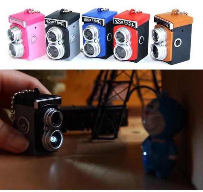 Mini Camera Key Chain-cool stuff