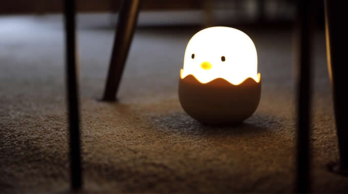 Chicken Night Light Bedside Headlight Lamp