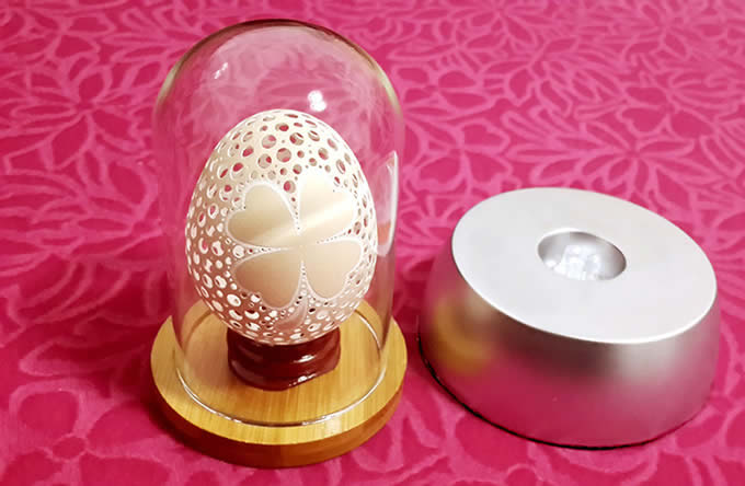 Diy Egg Shaped Projection Lamp