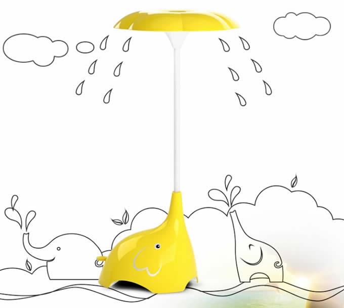 Elephant  Rechargeable Eye-Care LED Desk Lamp